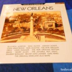Discos de vinilo: LOJZ78 LP JAZZ UK AÑOS 80 MUY BUEN ESTADO NEW ORLEANS VER ARTISTAS EN TAPA. Lote 218517581