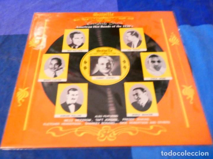 LOJZ78 LP JAZZ UK AÑOS 80 SABILLE AMERICAN HOT BANDS OF THE 30 S VER ARTISTAS EN TAPA (Música - Discos - LP Vinilo - Rock & Roll)