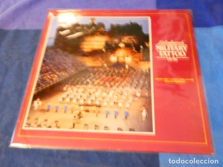 LOJZ78 LP MARCHAS MIIARES- ORQUESTA EDIMBURGH MILITARY TATTOO 1989 LIVE BUEN ESTADO (Música - Discos - LP Vinilo - Rock & Roll)