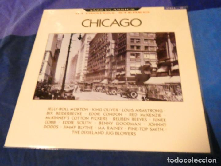 LOJZ78 LP JAZZ CLASSICS UK 80 S CHICAGO VER ARTISTAS EN TAPA (Música - Discos - LP Vinilo - Rock & Roll)
