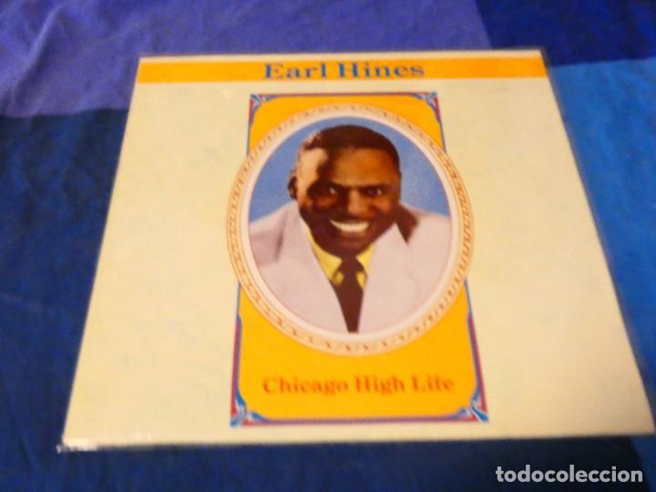 LOJZ78 LP JAZZ AÑOS 80 BUEN ESTAOD EARL HINES CHICAGO HIGH LIFE MUY BUEN ESTADO (Música - Discos - LP Vinilo - Rock & Roll)