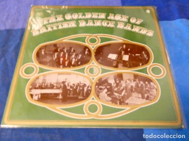 LOJZ78 DOBLE LP JAZZ AÑOS 80 MUY BUEN ESTADO GOLDEN AGE OF BRITISH DANCE BANDS (Música - Discos - LP Vinilo - Rock & Roll)