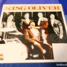 Discos de vinilo: LOJZ78 LP JAZZ UK AÑOS 80 EN LA SERIE GIANTS OF JAZZ MUY BUEN ESTADO KING OLIVER. Lote 218518975