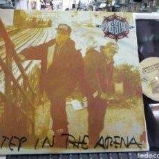 Discos de vinilo: GANG STARR LP STEP IN THE ARENA. Lote 218519135