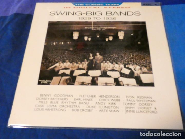 LOJZ78 LP JAZZ UK 80 SERIE GOLDEN YEARS SWING BIG BANDS 1929 TO 1936 (Música - Discos - LP Vinilo - Rock & Roll)