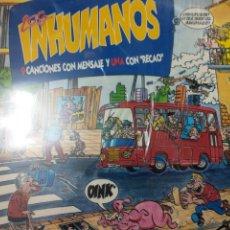 Discos de vinilo: INHUMANOS LP. Lote 218519866