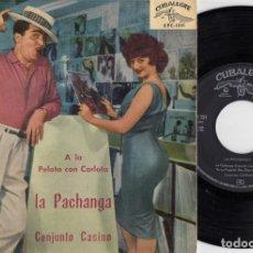 Discos de vinilo: CONJUNTO CASINO - A LA PELOTA CON CARLOTA - EP DE VINILO EDICION ESPAÑOLA #. Lote 218523111