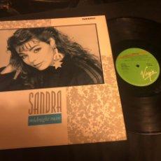 Discos de vinilo: SANDRA – MIDNIGHT MAN VIRGIN 1987. Lote 218536341
