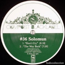 """Discos de vinilo: SOLOMUN ?– DON'T CRY 12"""". Lote 218540042"""