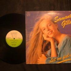 Discos de vinilo: SAMANTHA GILLES – LET ME FEEL IT !. Lote 218541055