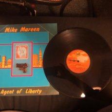 Discos de vinilo: MIKE MAREEN – AGENT OF LIBERTY. EURO-DISCO 1987. Lote 218541718