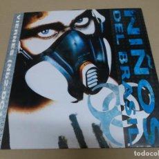 Discos de vinilo: NIÑOS DEL BRASIL (MAXI) VIERNES (3 TRACKS) AÑO 1992. Lote 218541890