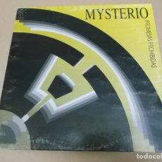 Discos de vinilo: MYSTERIO (MAXI) PROMESAS PROHIBIDAS (4 TRACKS) AÑO 1994. Lote 218541936