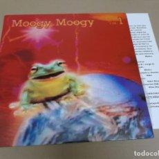 Discos de vinilo: MOOGY MOOGY (MAXI) VOL. 1 – MUGA MUGA (4 TRACKS) AÑO 1992 – HOJA INTERIOR CON CREDITOS. Lote 218542003