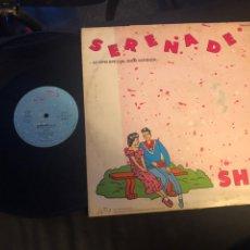 Discos de vinilo: SHAH – SERENADE ITALO-DISCO GERMANY 1985 MUY RARO. Lote 218546381