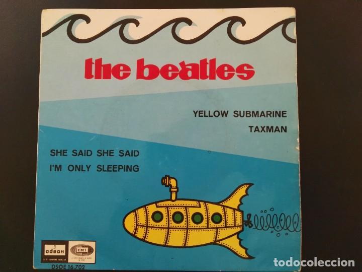 THE BEATLES - YELLOW SUBMARINE - DSOE 16.702 - EP 1966 (Música - Discos de Vinilo - EPs - Pop - Rock Internacional de los 50 y 60)