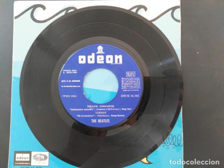 Discos de vinilo: THE BEATLES - YELLOW SUBMARINE - DSOE 16.702 - EP 1966 - Foto 3 - 218563445