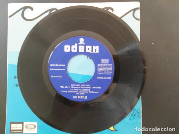 Discos de vinilo: THE BEATLES - YELLOW SUBMARINE - DSOE 16.702 - EP 1966 - Foto 4 - 218563445