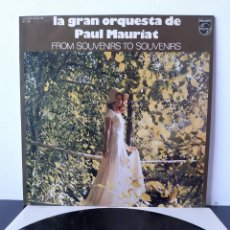 Disques de vinyle: LA GRAN ORQUESTA DE PAUL MAURIAT.. Lote 218569290
