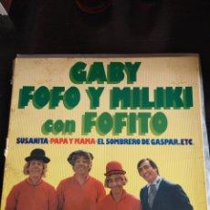 Discos de vinilo: GABY FOFÓ Y MILIKI. Lote 218569791
