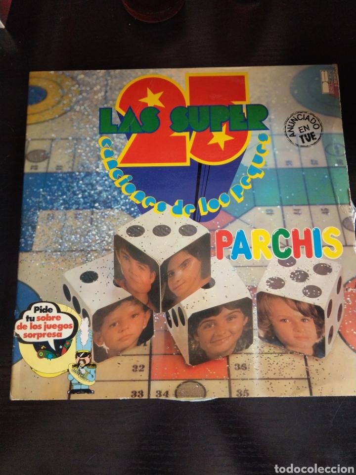 PARCHÍS LAS 25 SÚPER CANCIONES DE LOS PEQUES. 2 DISCOS (Música - Discos - LPs Vinilo - Música Infantil)
