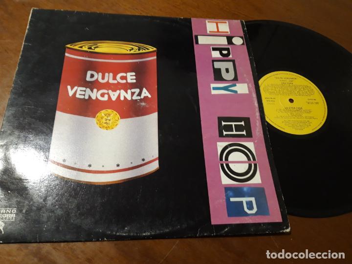 DULCE VENGANZA ?– HIPPY HOP-LP- MANO NEGRA RECORDS ?– MND-95-04-ESPAÑA-1989- (Música - Discos - LP Vinilo - Grupos Españoles de los 70 y 80)