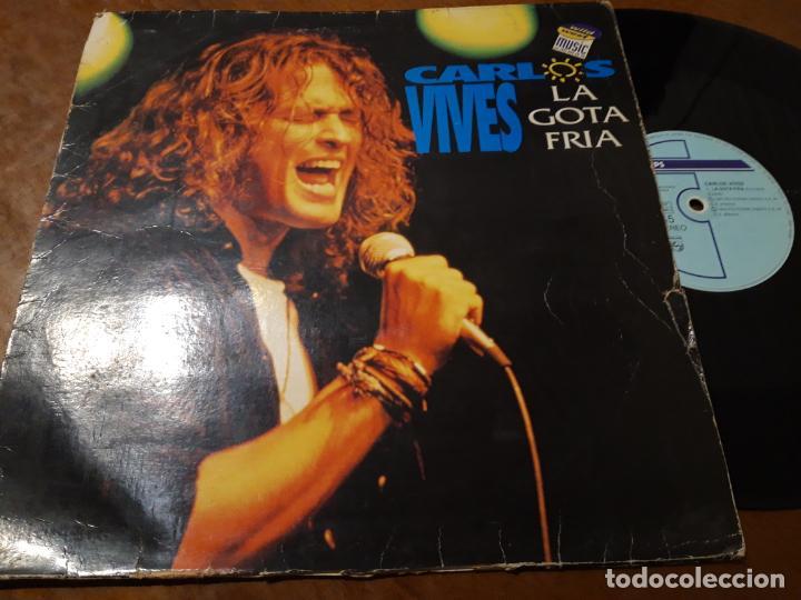 CARLOS VIVES ?– LA GOTA FRIA- MAXI-ESPAÑA-1993- PHILIPS ?– VIVES MX-1-RARO!! (Música - Discos de Vinilo - Maxi Singles - Grupos y Solistas de latinoamérica)