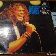 Discos de vinilo: CARLOS VIVES ?– LA GOTA FRIA- MAXI-ESPAÑA-1993- PHILIPS ?– VIVES MX-1-RARO!!. Lote 218572328