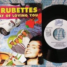 Discos de vinilo: SINGLE PROMOCIONAL THE RUBETTES - ¡UNICO ENVIO A FINAL DE MES!. Lote 218572375