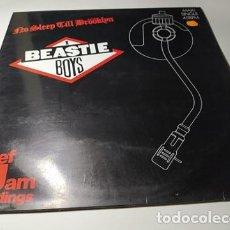 Discos de vinilo: MAXI - BEASTIE BOYS ?– NO SLEEP TILL BRÖÖKLYN - DEF 650841 6 ( VG+ / VG+) SPAIN 1987. Lote 218572621
