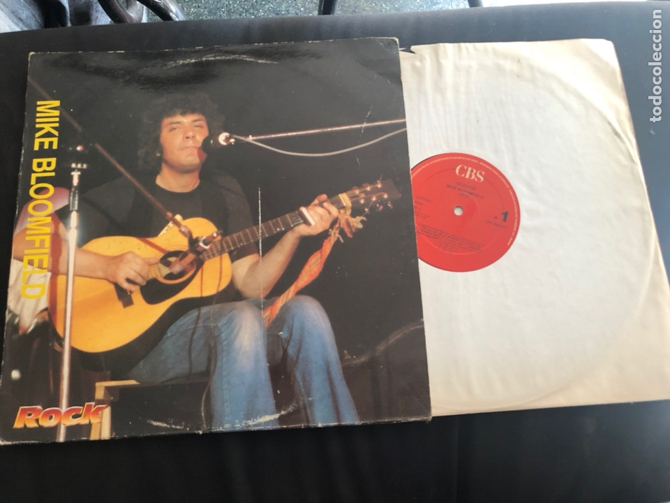 MIKE BLOOMFIELD – STOP / ROCK, BLUES (Música - Discos de Vinilo - Maxi Singles - Jazz, Jazz-Rock, Blues y R&B)