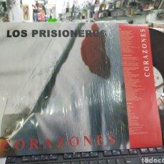 Discos de vinilo: LOS PRISIONEROS LP CORAZONES 2011. Lote 218573925