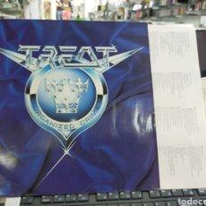 Discos de vinilo: TREAT LP ORGANIZED CRIME ALEMANIA 1989. Lote 218579785
