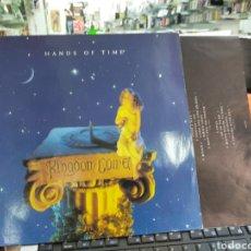 Discos de vinilo: KINGDOM COME LP HANDS OF TIME HOLANDA 1991. Lote 218580707