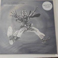 Discos de vinilo: FERNANDO ALFARO LA VIDA ES EXTRAÑA Y RARA ED. OROGINAL LP MAS CD. Lote 218583923