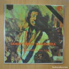 Discos de vinilo: SAMMY DAVIS / SAM BUTERA - EL LUGAR LAS VEGAS LA HORA 4 A.M. - LP. Lote 218585967