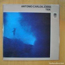 Discos de vinilo: ANTONIO CARLOS JOBIM - TIDE - GATEFOLD - LP. Lote 218586105