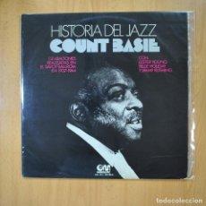Discos de vinilo: COUNT BASIE - HISTORIA DEL JAZZ - LP. Lote 218586331