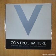 Disques de vinyle: NITZER EBB - CONTROL IM HERE - LP. Lote 218586436