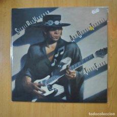 Discos de vinilo: STEVIE RAY VAUGHAN & DOUBLE TROUBLE - TEXAS FLOOD - LP. Lote 218587323
