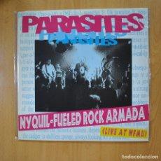 Discos de vinil: PARASITES - NYQUIL FUELED ROCK ARMADA LIVE AT WFMU - 2 LP. Lote 218587365