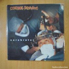 Disques de vinyle: CEREBROS EXPRIMIDOS - CEREBRATOR - VINILO AZUL - LP. Lote 218587433