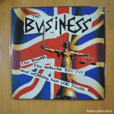 Disques de vinyle: THE BUSINESS - THE TRUTH THE WHOLE TRUTH AND NOTHING BUT THE TRUTH - GATEFOLD - LP. Lote 218587456