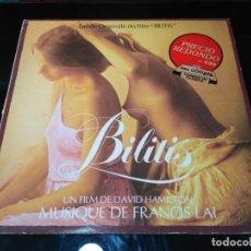 Discos de vinilo: FRANCIS LAI - BILITIS (BANDE ORIGINALE DU FILM) (LP, ALBUM, GAT). Lote 218601918