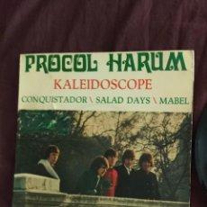 Discos de vinilo: PROCOL HARUM - EP- KALEIDOSCOPE + 3 SPA 1968 VER FOTOS. Lote 218605728