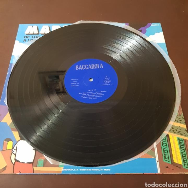 Discos de vinilo: MARCO - DE LOS APENINOS A LOS ANDES ( IMPECABLE ) - Foto 3 - 218611260