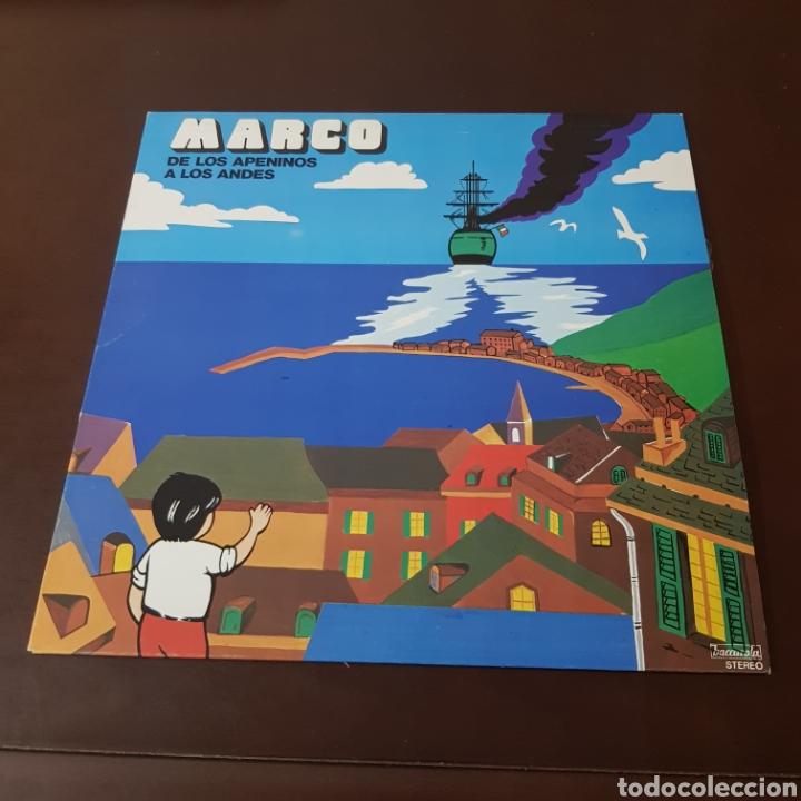 Discos de vinilo: MARCO - DE LOS APENINOS A LOS ANDES ( IMPECABLE ) - Foto 5 - 218611260