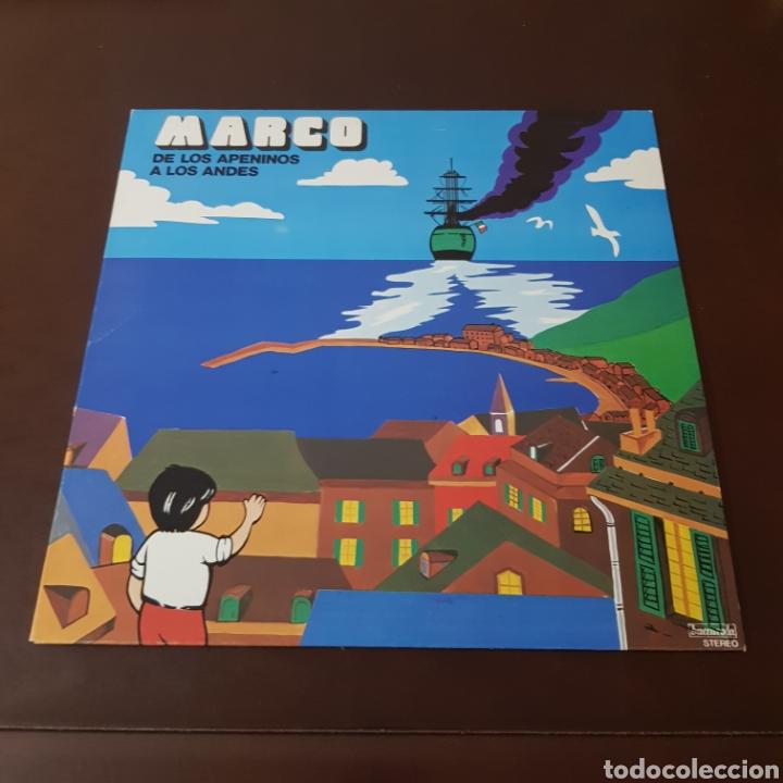 MARCO - DE LOS APENINOS A LOS ANDES ( IMPECABLE ) (Música - Discos - LPs Vinilo - Música Infantil)