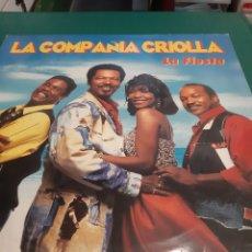 Discos de vinilo: MAXI LA COMPAÑÍA CRIOLLA LA FIESTA. Lote 218617016