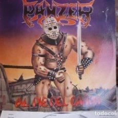 Discos de vinilo: PANZER - AL PIE DEL CAÑON - LP. Lote 218622687